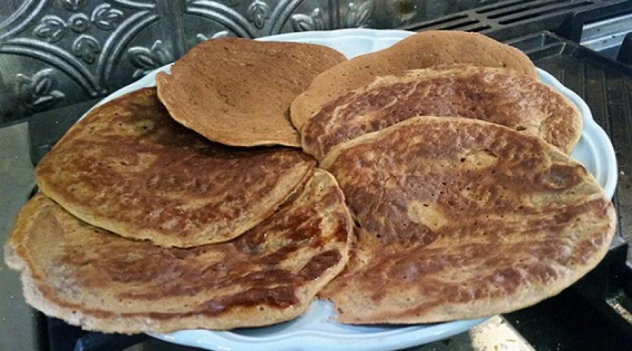 Cinnamon Toast Protein Pancakes